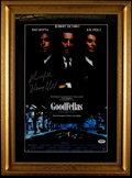 "Miscellaneous Collectibles:General, Henry Hill ""Goodfellas"" Signed Print...."