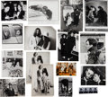 Music Memorabilia:Memorabilia, Beatles - A Group of Vintage Press Photographs of John Lennon andYoko Ono, With An Amsterdam Bed-In Photo Book (1960s and lat...