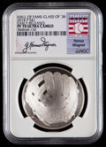 Baseball Collectibles:Others, 2014-P $1 Baseball Hall of Fame Silver Dollar, Class of '36, EarlyReleases, Honus Wagner Signature PF70 Ultra Cameo NGC. ...