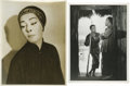Movie/TV Memorabilia:Photos, The Good Earth - Film Still of Paul Muni and Theatre Portrait ofNazimova. The Good Earth, Pearl Buck's powerful novel o...(Total: 2 Items)
