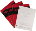 "Movie/TV Memorabilia:Memorabilia, ""Star Trek the Next Generation"" Scripts. This set of four scriptsfrom the first season of the series includes a first draf..."
