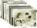 "Movie/TV Memorabilia:Photos, Shirley Temple Photo Group. Eight vintage black-and-white 8"" x 10""photos of the beloved child star; five from the 1934 come..."