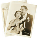 "Movie/TV Memorabilia:Photos, After the Thin Man Photos. Myrna Loy: ""I read where you were shotfive times in the tabloids."" William Powell: ""It's not tru...(Total: 2 Items)"