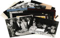 "Music Memorabilia:Photos, Frank Sinatra and Others Photo Collection. This set of 25 b&wand color 8"" x 10"" glossy photos includes candid shots of Sina..."