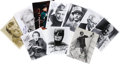 "Movie/TV Memorabilia:Autographs and Signed Items, ""Batman"" Heroes and Villains Autograph Group. Set of 11 8"" x 10""photos includes a color photo signed by Frank Gorshin and ..."
