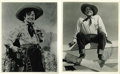 "Movie/TV Memorabilia:Autographs and Signed Items, Leo Carrillo Signed Photos. Two b&w 8"" x 10"" photos signed byLatino actor Leo Carrillo, including one of him in character ..."