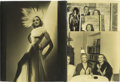 """Movie/TV Memorabilia:Photos, Marlene Dietrich Photos from Clifton Webb Estate. Included in thisstriking lot is an alluring 9.5"""" x 11.5"""" portrait inscr..."""