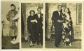 """Movie/TV Memorabilia:Autographs and Signed Items, Marlene Dietrich Photo Group from the Clifton Webb Estate.Selection of three b&w 8' x 10"""" photos includes a shot of anult..."""