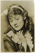 Movie/TV Memorabilia:Photos, Helen Chandler Broadway Portrait. Here's a wistful pose of Helen Chandler, New York stage actress of the 1920s and 1930s, be...