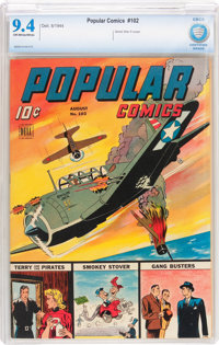 Popular Comics #102 (Dell, 1944) CBCS NM 9.4 Off-white to white pages
