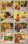 "Movie Posters:War, Yesterday's Enemy (Columbia, 1959). Lobby Card Set of 8 (11"" X14""). War.. ... (Total: 8 Items)"