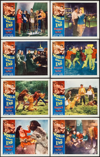 "World Without End (Allied Artists, 1956). Lobby Card Set of 8 (11"" X 14""). Science Fiction. ... (Total: 8 Item..."