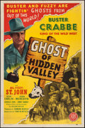 """Movie Posters:Western, Ghost of Hidden Valley (PRC, 1946). One Sheet (27"""" X 41"""").Western.. ..."""