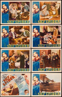 "The Sky Spider (Action, 1931). Lobby Card Set of 8 (11"" X 14""). Action. ... (Total: 8 Items)"