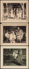 """Movie Posters:Comedy, Isn't Love Cuckoo? & Other Lot (Pathé, 1925). Lobby Cards (3) (11"""" X 14""""). Comedy.. ... (Total: 3 Items)"""