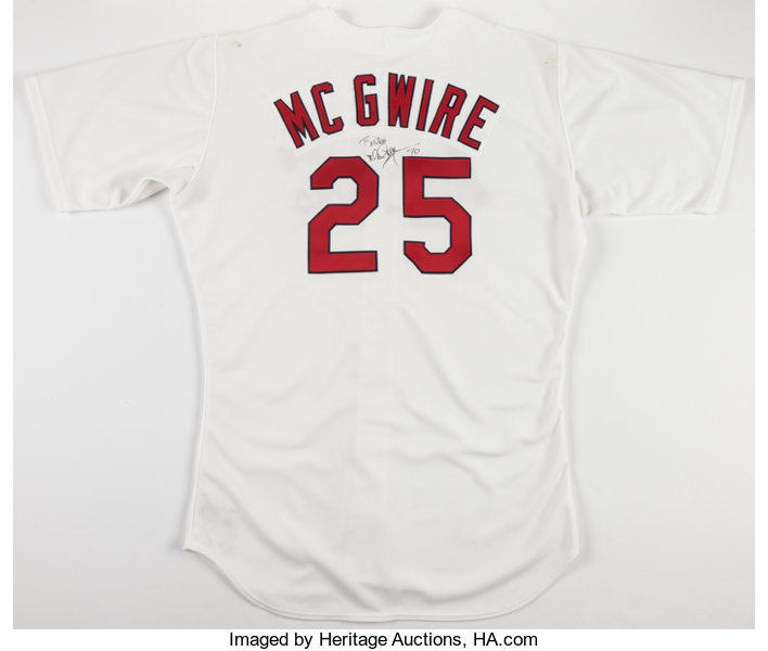 brand new 76418 6461d Mark McGwire Signed St. Louis Cardinals Authentic Jersey ...