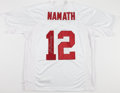 Football Collectibles:Uniforms, Joe Namath Signed Alabama Crimson Tide Jersey - Mounted Memories....