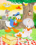 Animation Art:Production Drawing, Donald Duck Illustration Original Art (Walt Disney, c. 1960s)....