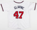 Baseball Collectibles:Uniforms, Tom Glavine Signed Atlanta Braves Jersey....