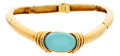 Estate Jewelry:Necklaces, Turquoise, Gold Necklace, David Webb. ...