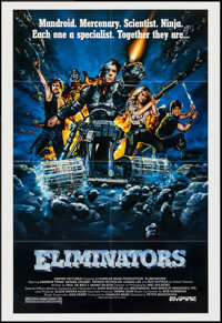 """Eliminators & Others Lot (Empire, 1986). One Sheets (3) (27"""" X 41""""). Science Fiction. ... (Total: 3 Items)"""