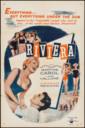 """Movie Posters:Foreign, Riviera (IFE Releasing, 1954). One Sheet (27"""" X 41""""). Foreign.. ..."""