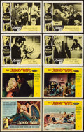 "Movie Posters:Crime, The Unholy Wife & Other Lot (RKO, 1957). Title Lobby Card & Lobby Cards (7) (11"" X 14""). Crime.. ... (Total: 8 Items)"