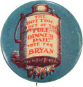 Political:Pinback Buttons (1896-present), William Jennings Bryan: Empty Dinner Pail Button....