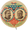Political:Pinback Buttons (1896-present), Taft & Sherman: Colorful Ehrman Jugate....