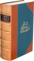Books:Travels & Voyages, [Genesis Publications]. Lieutenant W. Bligh. The Log of theH.M.S. Bounty 1787 - 1789. [Guildford:] Genesis Publ...