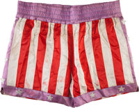 """A Pair of Boxing Trunks from """"Rocky IV."""""""