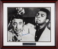 Movie/TV Memorabilia:Autographs and Signed Items, A Muhammad Ali Signed Limited Edition Black and WhitePhotograph....