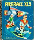 Books:Children's Books, [Little Golden Books]. Barbara Shook Hazen. Hawley Pratt and AlWhite, illustrators. Fireball XL5. New York: Gol...