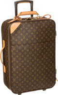 "Luxury Accessories:Travel/Trunks, Louis Vuitton Classic Monogram Canvas Pegase 55 Suitcase . Very Good to Excellent Condition . 14.5"" Width x 22"" Height..."