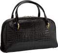 "Luxury Accessories:Bags, Lana Marks Shiny Crocodile Tote Bag. Very Good to ExcellentCondition. 11"" Width x 6.5"" Height x 4"" Depth. ..."