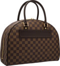 "Luxury Accessories:Bags, Louis Vuitton Damier Ebene Canvas Nolita Bag. ExcellentCondition. 13.5"" Width x 10"" Height x 5.5"" Depth. ..."