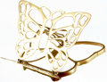Books:Furniture & Accessories, [Book Stand]. Solid Brass Butterfly Folding Book Stand. ...