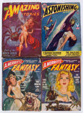 Pulps:Science Fiction, Science Fiction Pulps Box Lot (Miscellaneous Publishers, 1940s-50s)Condition: Average FR/GD.... (Total: 4 Box Lots)