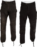 "Movie/TV Memorabilia:Costumes, A Group of Pants from ""The Expendables 2.""..."