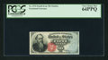 Fractional Currency:Fourth Issue, Fr. 1376 50¢ Fourth Issue Stanton PCGS Very Choice New 64PPQ.. ...