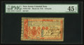 Colonial Notes:New Jersey, New Jersey March 25, 1776 £6 PMG Choice Extremely Fine 45 EPQ.. ...