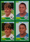 Football Cards:Sets, 1989 Score Football Complete Sets Pair (2) With Sanders & Aikman. ...