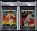Autographs:Sports Cards, Signed Chapman & Rolfe R327 Diamond Stars Pair (2) - PSA/DNAAuthentic. ...