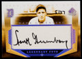 Baseball Cards:Singles (1970-Now), 2004 SP Legendary Cuts Hank Greenberg Autograph HG....