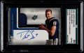 Football Cards:Singles (1970-Now), 2001 SPx Drew Brees Rookie Jersey Autographed #101 SGC 80 EX/NM6....