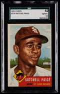 Baseball Cards:Singles (1950-1959), 1953 Topps Satchell Paige #220 SGC 82 EX/MT+ 6.5....