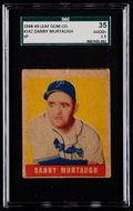 Baseball Cards:Singles (1940-1949), 1948 Leaf Danny Murtaugh SP #142 SGC 35 Good+ 2.5....