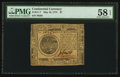 Colonial Notes:Continental Congress Issues, Continental Currency May 10, 1775 $7 PMG Choice About Unc 58 EPQ.. ...