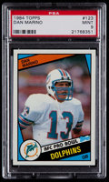 Football Cards:Singles (1970-Now), 1984 Topps Dan Marino #123 PSA Mint 9....