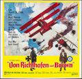 "Movie Posters:War, Von Richthofen and Brown (United Artists, 1971). Six Sheet (76"" X 79""). War.. ..."